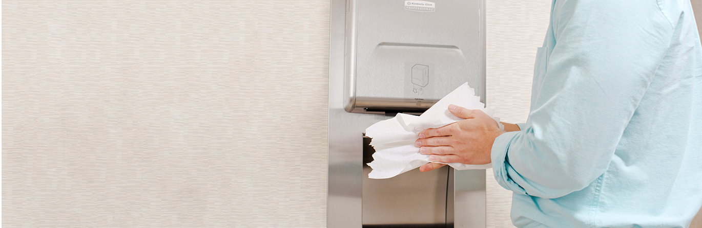 Good workplace hygiene starts with clean hands.