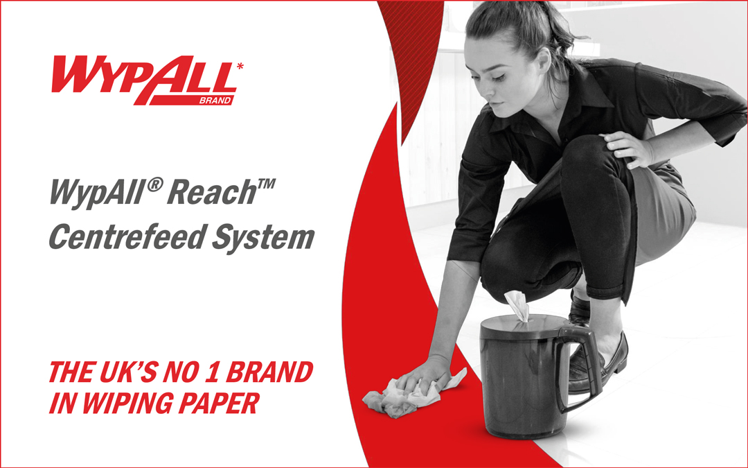 Your purchasing decisions have measurable impact – KCP Controlled Dispensing WypAll Reach System